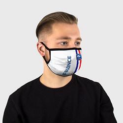 Маска для лица СБОРНАЯ ФРАНЦИЯ цвета 3D-принт — фото 1