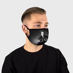 Маска для лица Стивен Кинг цвета 3D-принт — фото 1