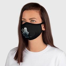 Неопреновая маска с клапаном с принтом ВЕДЬМАК, цвет: 3D-черный, артикул: 10210265905999 — фото 1