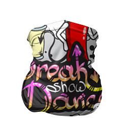 Бандана-труба Break Show Dance цвета 3D-принт — фото 1
