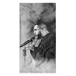 Бандана-труба Jah Khalib: Black mist цвета 3D-принт — фото 2