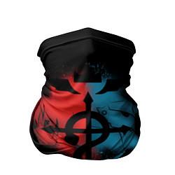 Бандана-труба Стальной алхимик цвета 3D-принт — фото 1