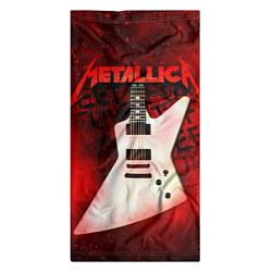 Бандана-труба Metallica цвета 3D-принт — фото 2