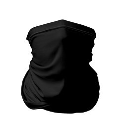 Бандана-труба ЧЁРНАЯ МАСКА цвета 3D — фото 1
