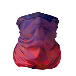 Бандана-труба Абстракция цвета 3D — фото 1