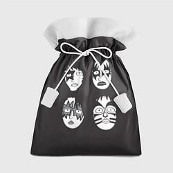 Мешок для подарков KISS Mask цвета 3D — фото 1