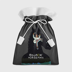 Мешок для подарков Bojack Horseman цвета 3D-принт — фото 1