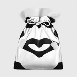 Мешок для подарков OBEY Face цвета 3D-принт — фото 1