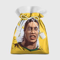 Мешок для подарков Ronaldinho Art цвета 3D-принт — фото 1