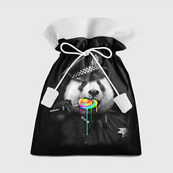 Мешок для подарков Панда с карамелью цвета 3D — фото 1