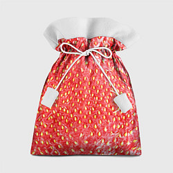 Мешок для подарков Я клубничка цвета 3D — фото 1