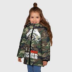 Куртка зимняя для девочки Best fisher цвета 3D-черный — фото 2