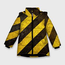 Куртка зимняя для девочки Во все тяжкие цвета 3D-черный — фото 1