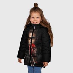 Куртка зимняя для девочки Stefan Salvatore V3 цвета 3D-черный — фото 2