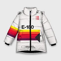Куртка зимняя для девочки VHS E-180 цвета 3D-черный — фото 1