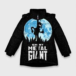Куртка зимняя для девочки Bender Metal Giant цвета 3D-черный — фото 1
