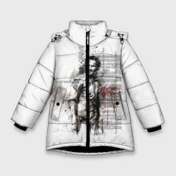Куртка зимняя для девочки Rick Grimes цвета 3D-черный — фото 1