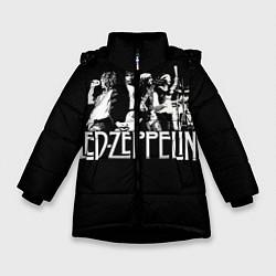 Куртка зимняя для девочки Led Zeppelin: Mono - фото 1