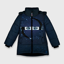 Куртка зимняя для девочки Evanescence Eyes цвета 3D-черный — фото 1