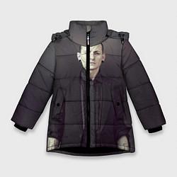 Куртка зимняя для девочки Честер Беннингтон цвета 3D-черный — фото 1