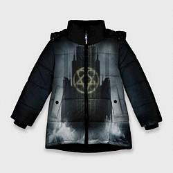 Куртка зимняя для девочки HIM: Devil Castle - фото 1