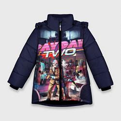 Куртка зимняя для девочки Payday Two цвета 3D-черный — фото 1