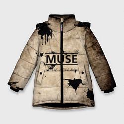 Куртка зимняя для девочки Muse: the 2nd law - фото 1