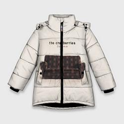 Куртка зимняя для девочки The Cranberries: Zombie цвета 3D-черный — фото 1
