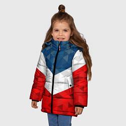 Куртка зимняя для девочки Форма России цвета 3D-черный — фото 2