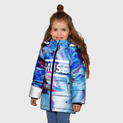 Куртка зимняя для девочки MUSE: Blue Colours - фото 2