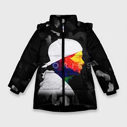 Куртка зимняя для девочки Avicii: Stories цвета 3D-черный — фото 1