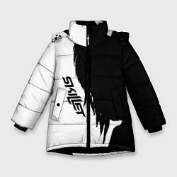 Куртка зимняя для девочки Skillet Shadow цвета 3D-черный — фото 1