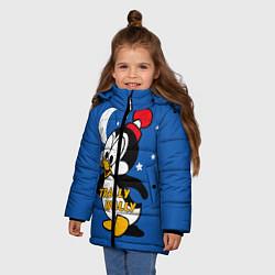 Куртка зимняя для девочки Trally Wally цвета 3D-черный — фото 2