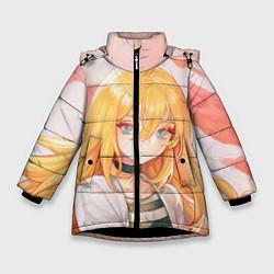Куртка зимняя для девочки Satsuriku no Tenshi цвета 3D-черный — фото 1