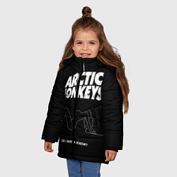 Куртка зимняя для девочки Arctic Monkeys: Do i wanna know? - фото 2
