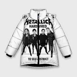 Куртка зимняя для девочки Metallica: Hardwired цвета 3D-черный — фото 1