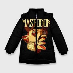 Куртка зимняя для девочки Mastodon: Leviathan цвета 3D-черный — фото 1