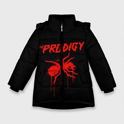 Куртка зимняя для девочки The Prodigy: Blooded Ant цвета 3D-черный — фото 1