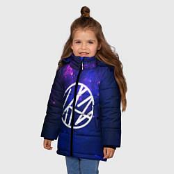 Куртка зимняя для девочки Stray Kids цвета 3D-черный — фото 2