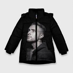 Куртка зимняя для девочки Егор Крид: Цвет настроения чёрный цвета 3D-черный — фото 1
