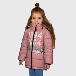 Куртка зимняя для девочки Television Series Friends цвета 3D-черный — фото 2