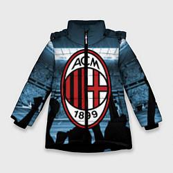 Куртка зимняя для девочки Milan цвета 3D-черный — фото 1