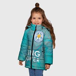 Куртка зимняя для девочки Лестер Сити - фото 2