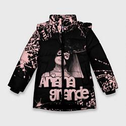Куртка зимняя для девочки ARIANA GRANDE цвета 3D-черный — фото 1