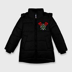 Куртка зимняя для девочки Payton Moormeie цвета 3D-черный — фото 1
