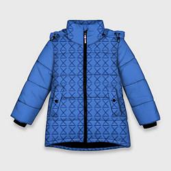 Куртка зимняя для девочки Конь БоДжек Свитер цвета 3D-черный — фото 1
