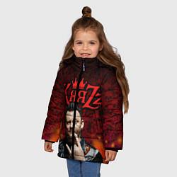 Куртка зимняя для девочки Князь цвета 3D-черный — фото 2