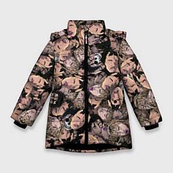 Куртка зимняя для девочки Juice WRLD цвета 3D-черный — фото 1