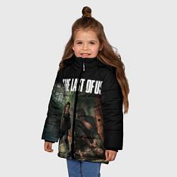 Куртка зимняя для девочки THE LAST OF US цвета 3D-черный — фото 2