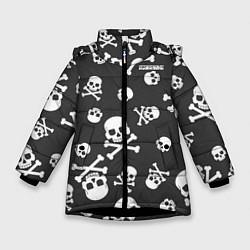 Куртка зимняя для девочки Scorpions цвета 3D-черный — фото 1
